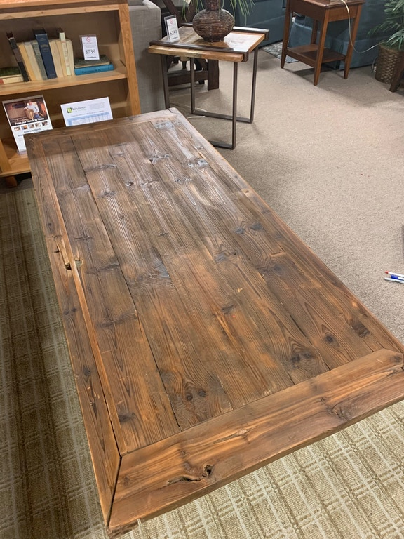 Fantastic Reclaimed Door Is Now A Coffee Table Pabps2019 Chair Design Images Pabps2019Com