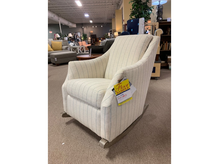 Astonishing Upholstered Rocking Chair Beautiful Rocker In A Truly On Trend Fabric Great Price Pabps2019 Chair Design Images Pabps2019Com