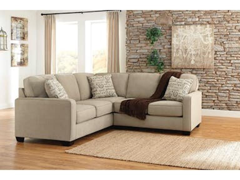Ashley Living Room Aleyna Quartz W Raf Loveseat 1660056 66 Z R