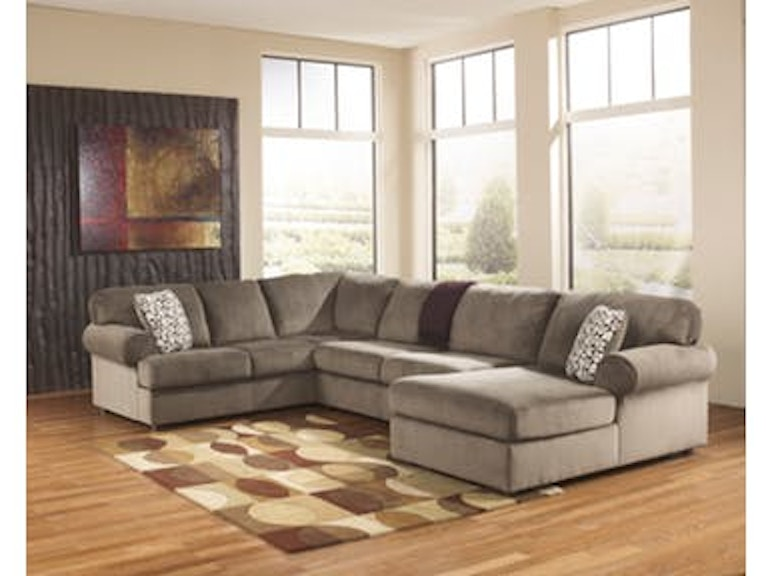 Pleasant Ashley Living Room Jessa Place Dune Sectional W Armless Alphanode Cool Chair Designs And Ideas Alphanodeonline