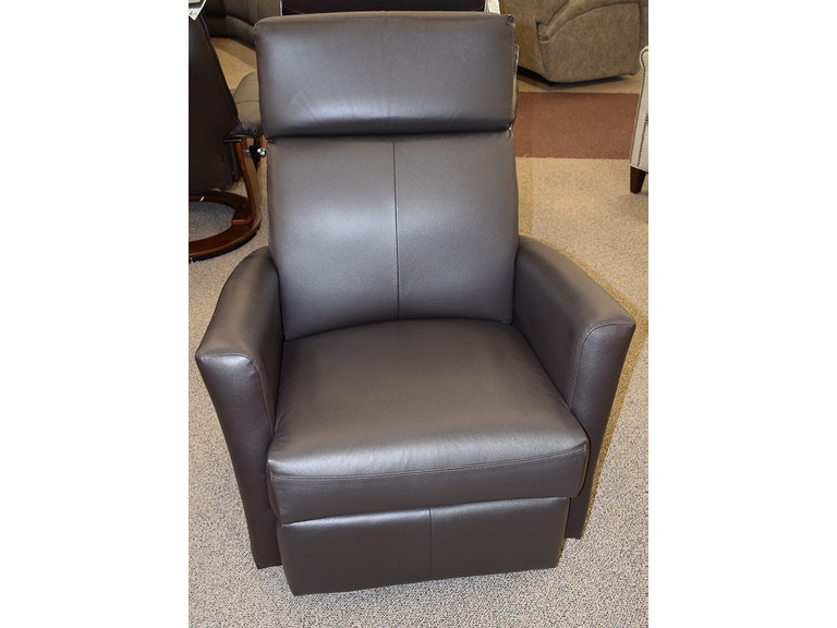 Elran Swivel Glider Recliner With Battery Pack L0852sgpowp100