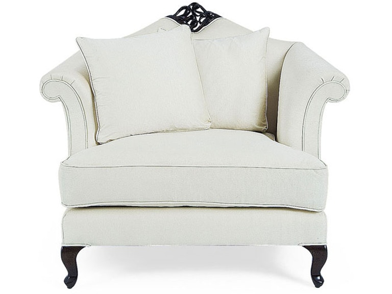 Christopher guy living room valentina lounge chair 60 0045 - The living room lounge houston tx ...