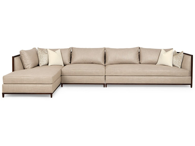 Christopher Guy Living Room Seurat Sectional Sofa 60-0509 ...