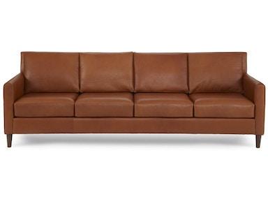 Elite Leather Aero 4 Cushion Sofa 27028 88