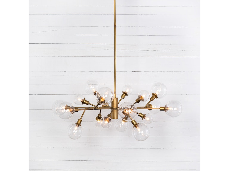 Four Hands Lamps And Lighting Pellman Chandelier Ccar 66