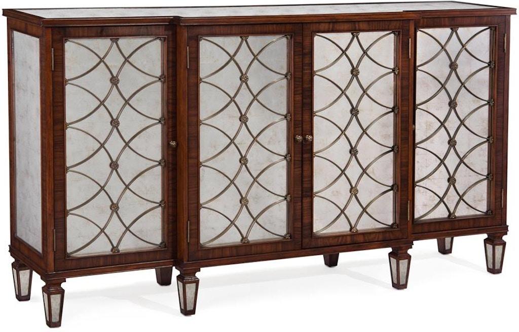 Regency Grillwork Cabinet