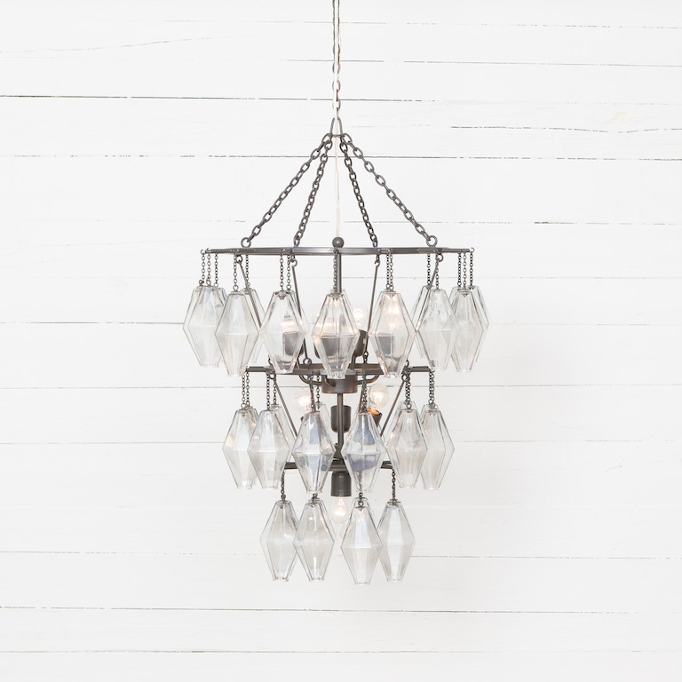 Four Hands Lamps And Lighting Adeline Small Round Chandelier