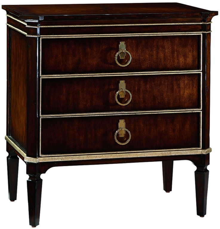 Furniture Clearance Center Houston Tx: Marge Carson Bedroom Ionia Nightstand ION12-1