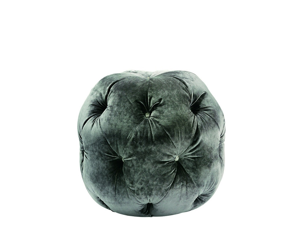 Marge Carson Home Accents Zoe Pouff ZOE48 At Noel Furniture