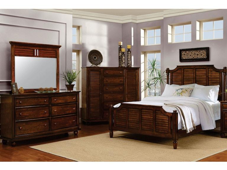 Cottage Creek Bedroom Queen Bed 1105 - Matter Brothers Furniture ...
