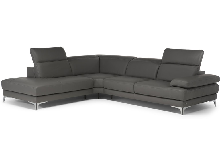 Natuzzi Editions Leather Sectional C054 At Matter Brothers Furniture
