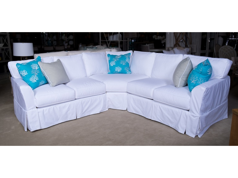 Four Seasons Slipcover Sectional 2325 Devin At Matter Brothers Furniture