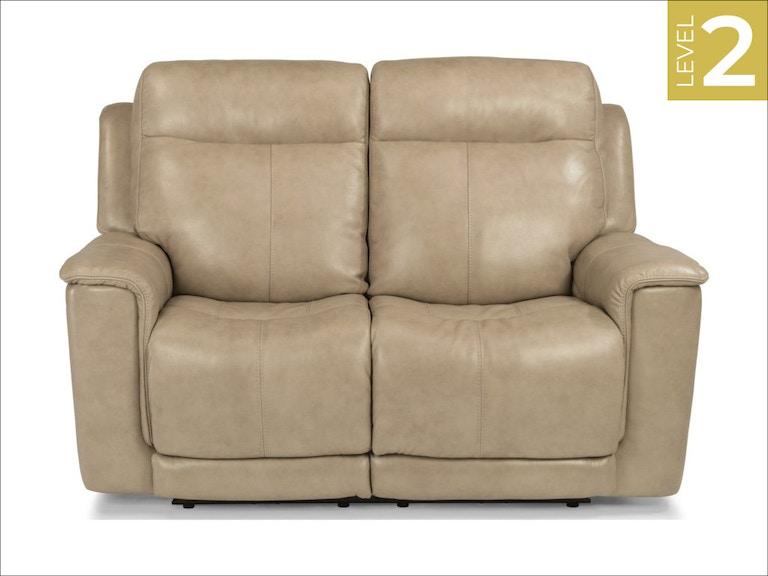 Stupendous Flexsteel Living Room Power Reclining Loveseat W Power Inzonedesignstudio Interior Chair Design Inzonedesignstudiocom