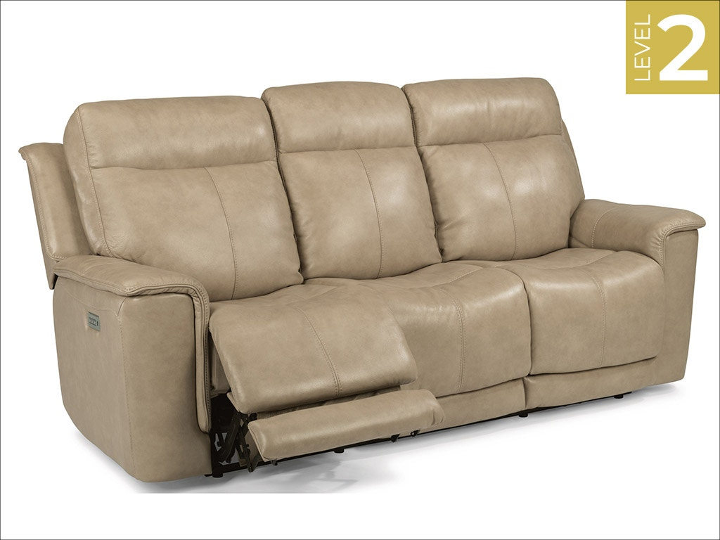 Flexsteel Power Reclining Sofa W Power Headrest 1729 62ph