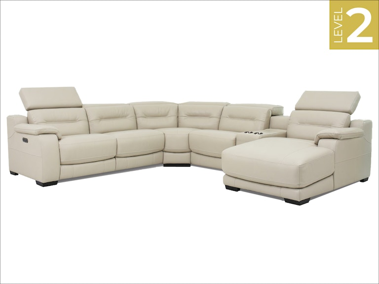 Htl furniture living room leather sectional 11384 sect - Living room furniture fort myers fl ...