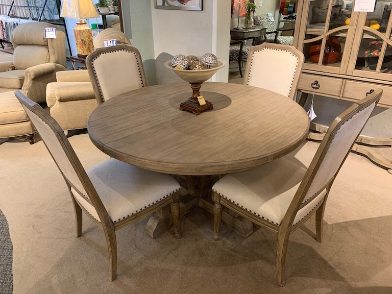 Corsica Dining Table (54) with (4) Side Chairs