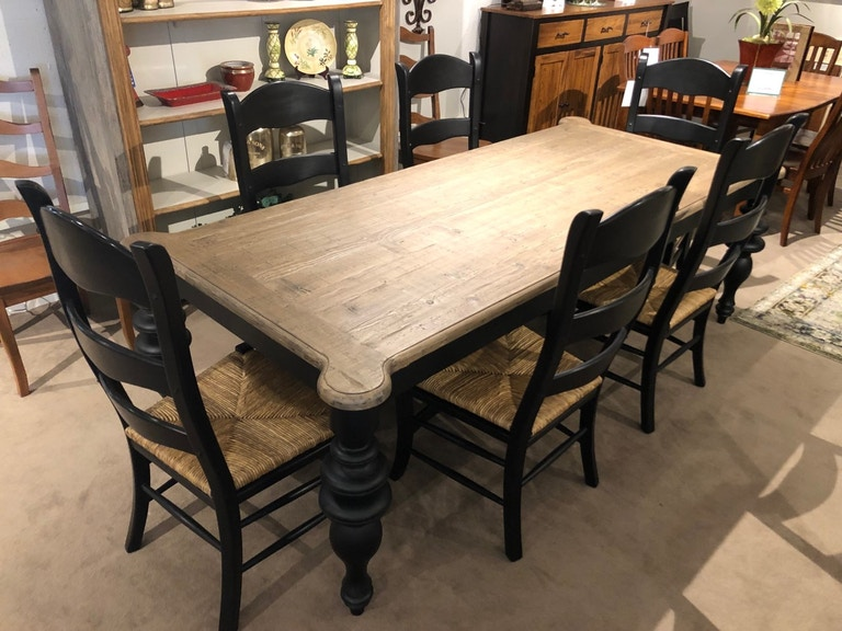 Pleasant Solid Wood Dining Group By Furniture Classics Ltd Table And 6 Chairs Cjindustries Chair Design For Home Cjindustriesco