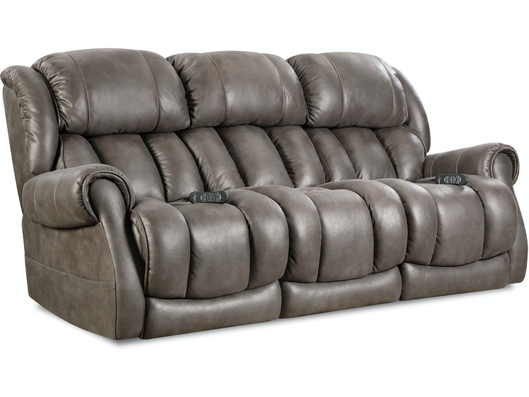 Home Stretch Custom Comfort Power Reclining Sofa 146 37 14