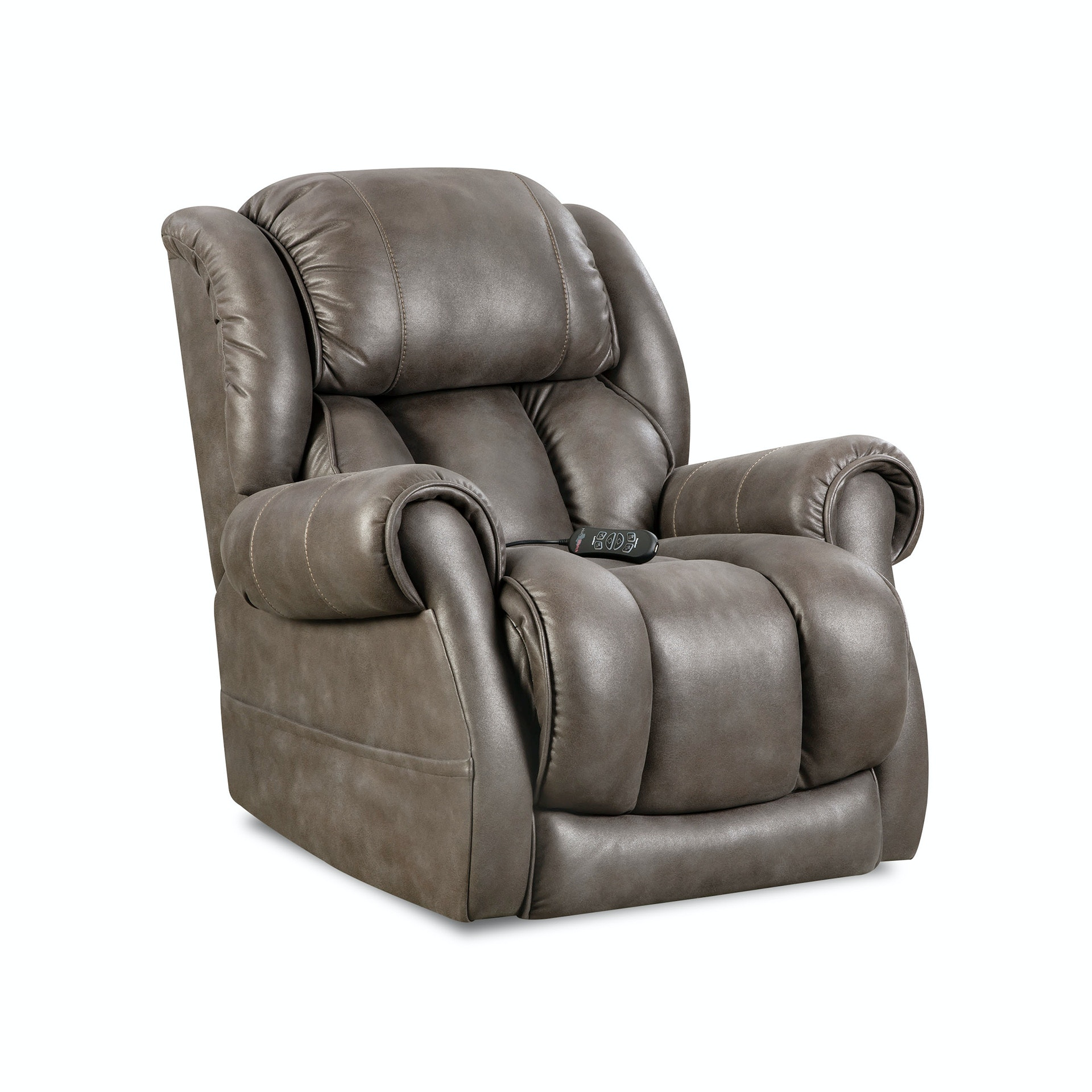 Home Stretch Custom Comfort Power Wallsaver Recliner 146 97 14