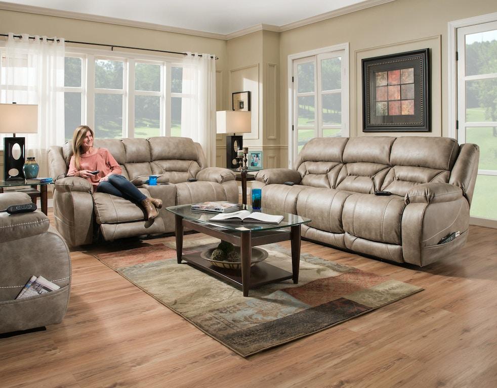 Home Stretch Living Room Custom Comfort Reclining Sofa 158