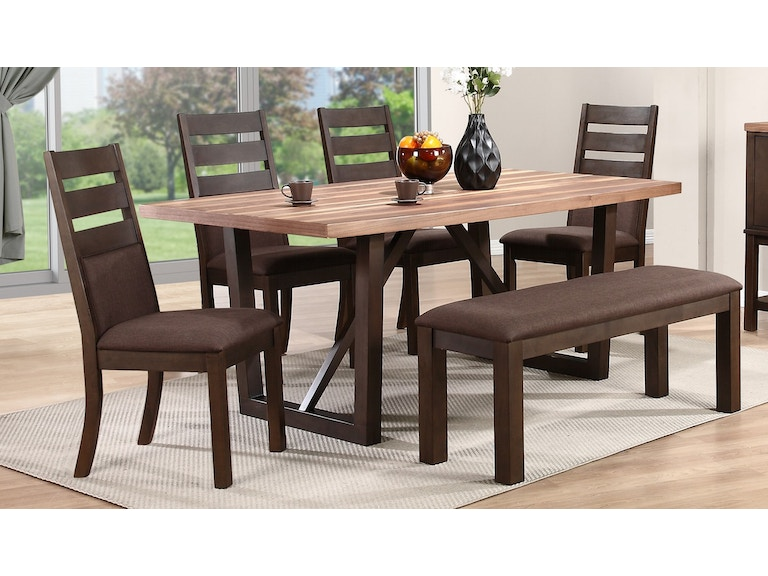 Winners Only Dining Table T1 Vn4272 Base Top Sims Furniture Ltd