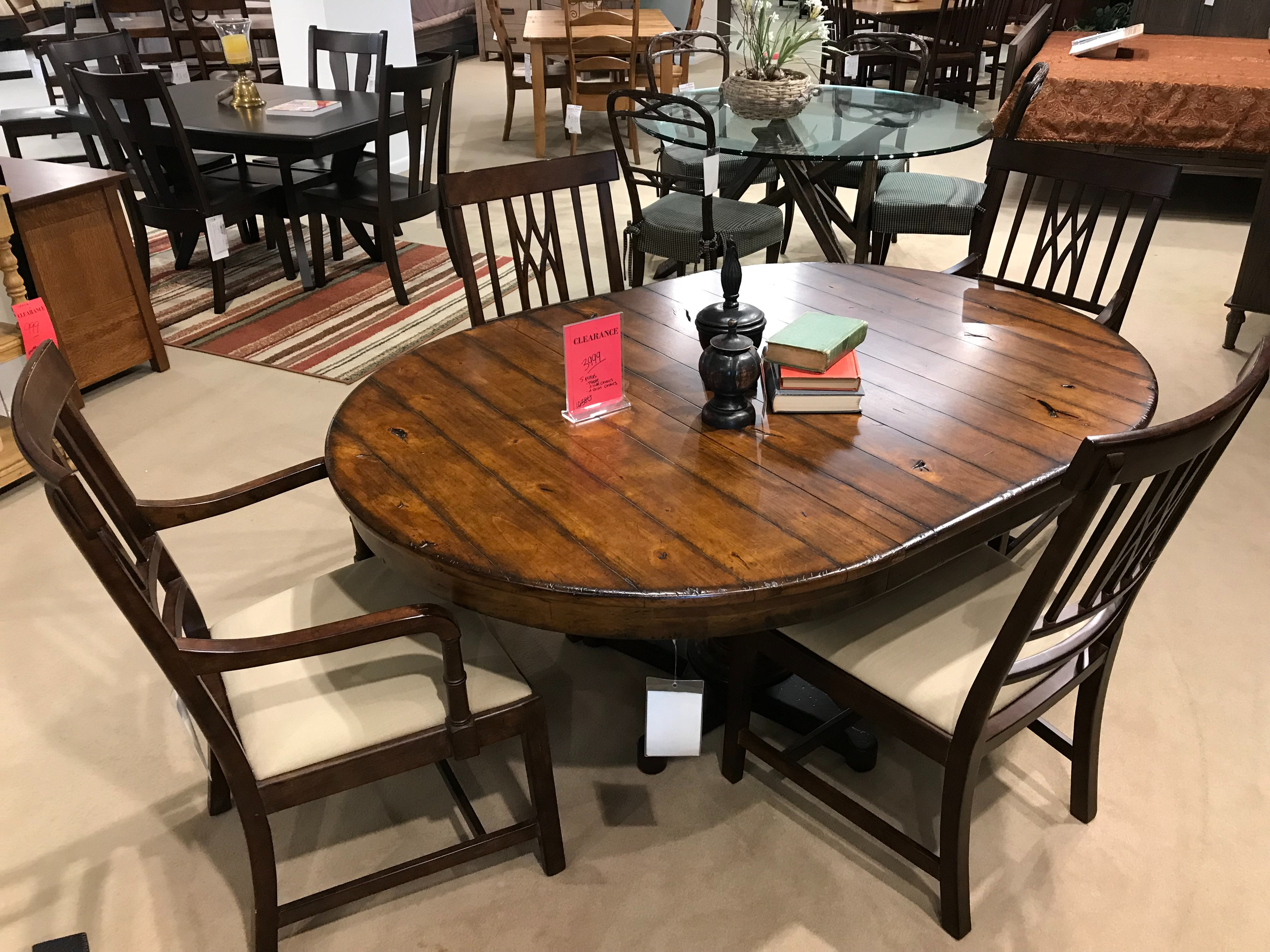 5 PC Bob Timberlake Table U0026 Chairs