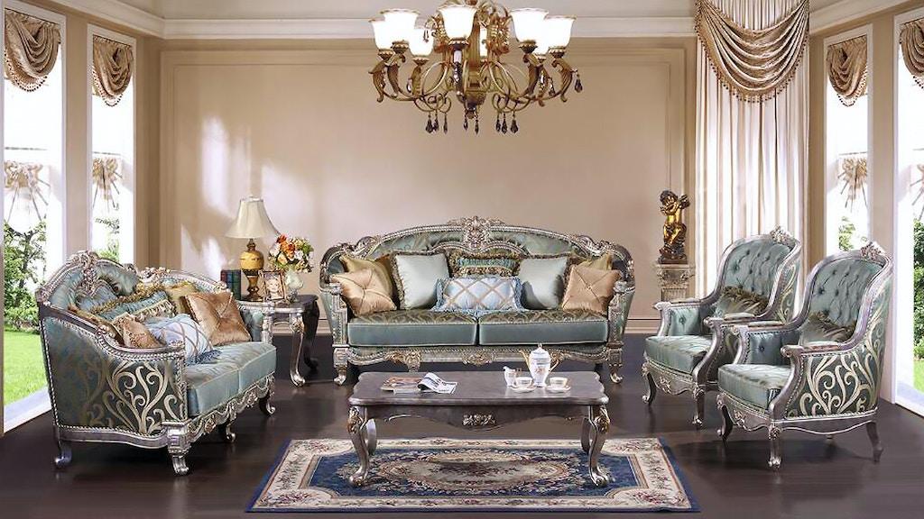 Cosmos Furniture Zara Sofa W 8 Pillows Silver
