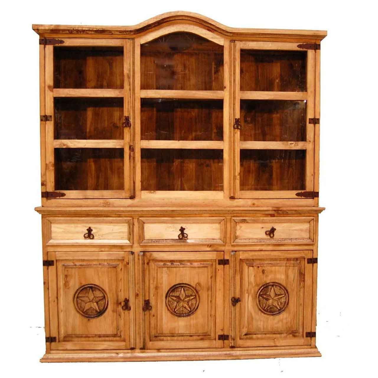 Million Dollar Rustic Dining Room  C 4 Buffet Hutch At American Oak And More