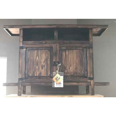 Million Dollar Rustic Rec Room  36 Tv Stand At American Oak And More