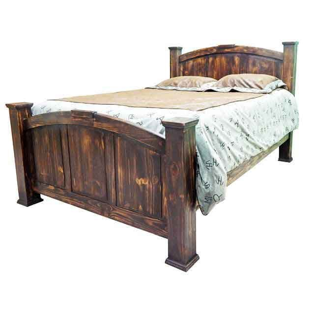 Million Dollar Rustic Bed