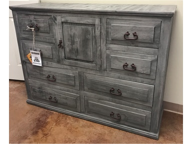 Million Dollar Rustic Rustic Charcoal Gray Dresser 02 2 123a 02 D21