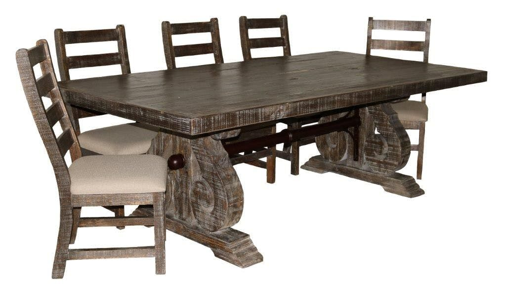 Picture of: 03 2 15 151 8 Bw Savannah Dining Set Table And 6 Chairs