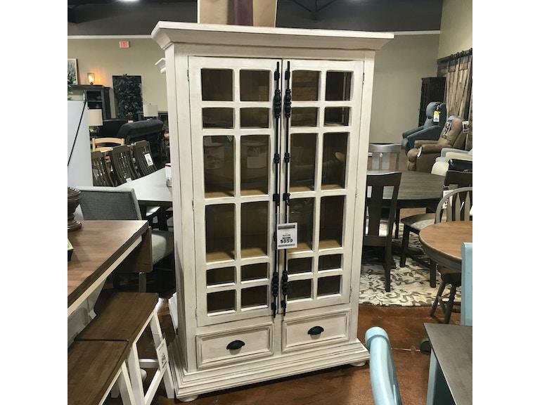 new product e0f73 8b39d Rustic Two Door Bookcase