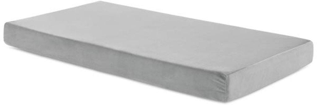 Bb06tt30gf Gr Brighton Bed Youth Gel Memory Foam Mattress Twin Gray