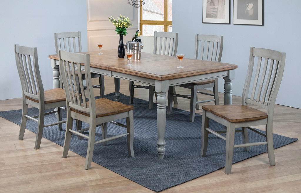 DB54278-SET - Table and 6 Chairs