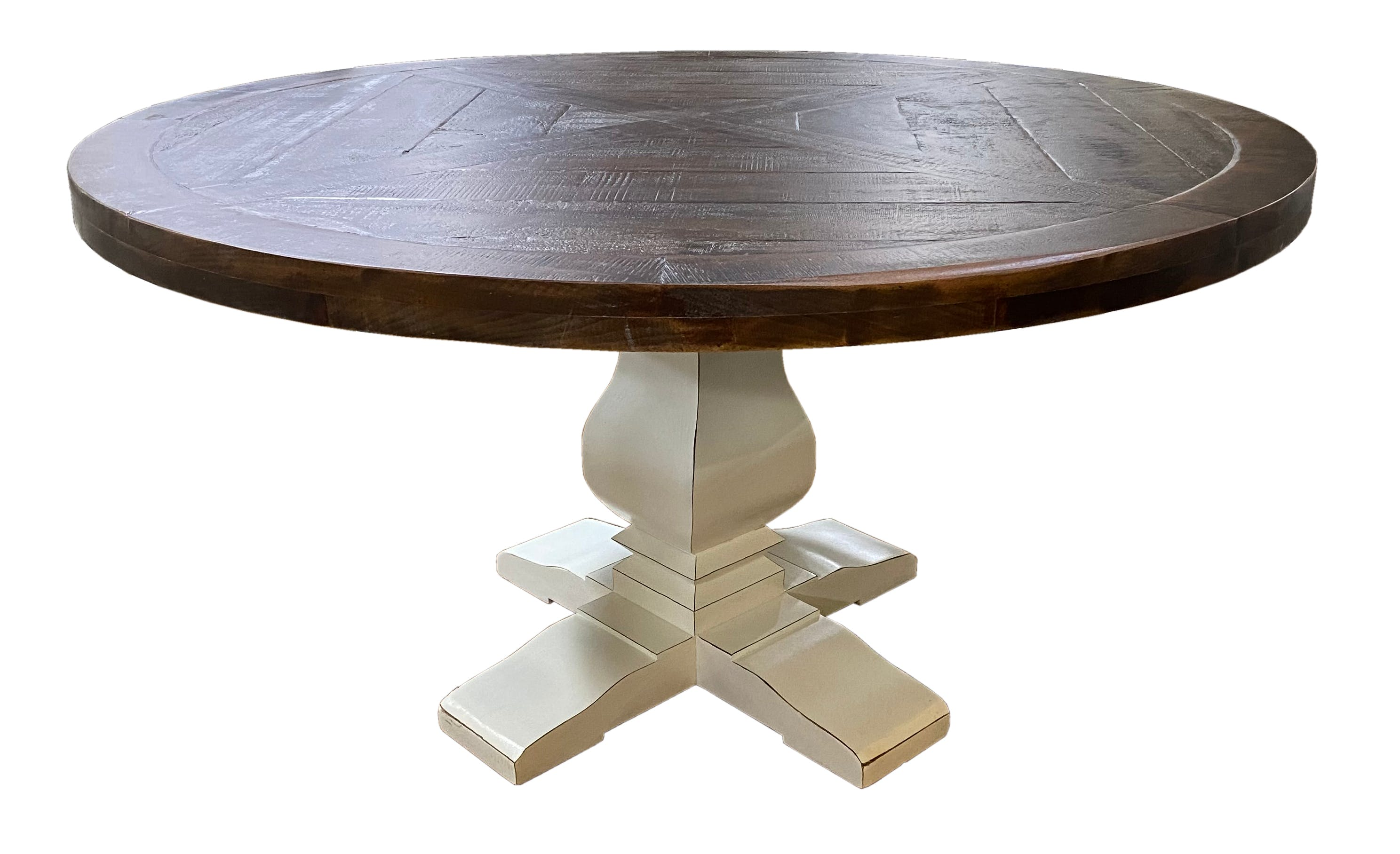 G Dg Mes So 60 Jw 60 Round Dining Table With Single Pedestal