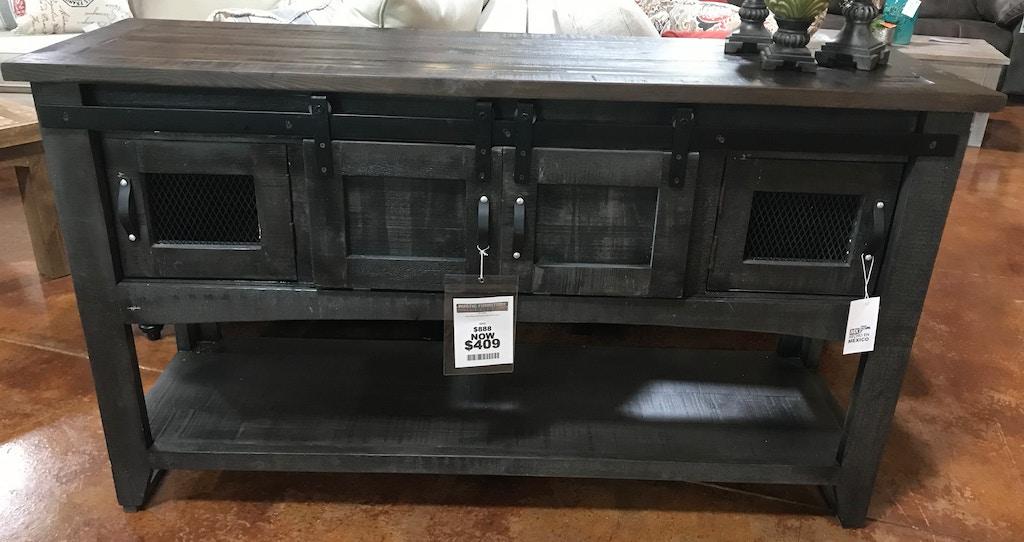Fabulous Texas Rustic Gray Barn Door Sofa Table With Mesh Jm Con87 Creativecarmelina Interior Chair Design Creativecarmelinacom
