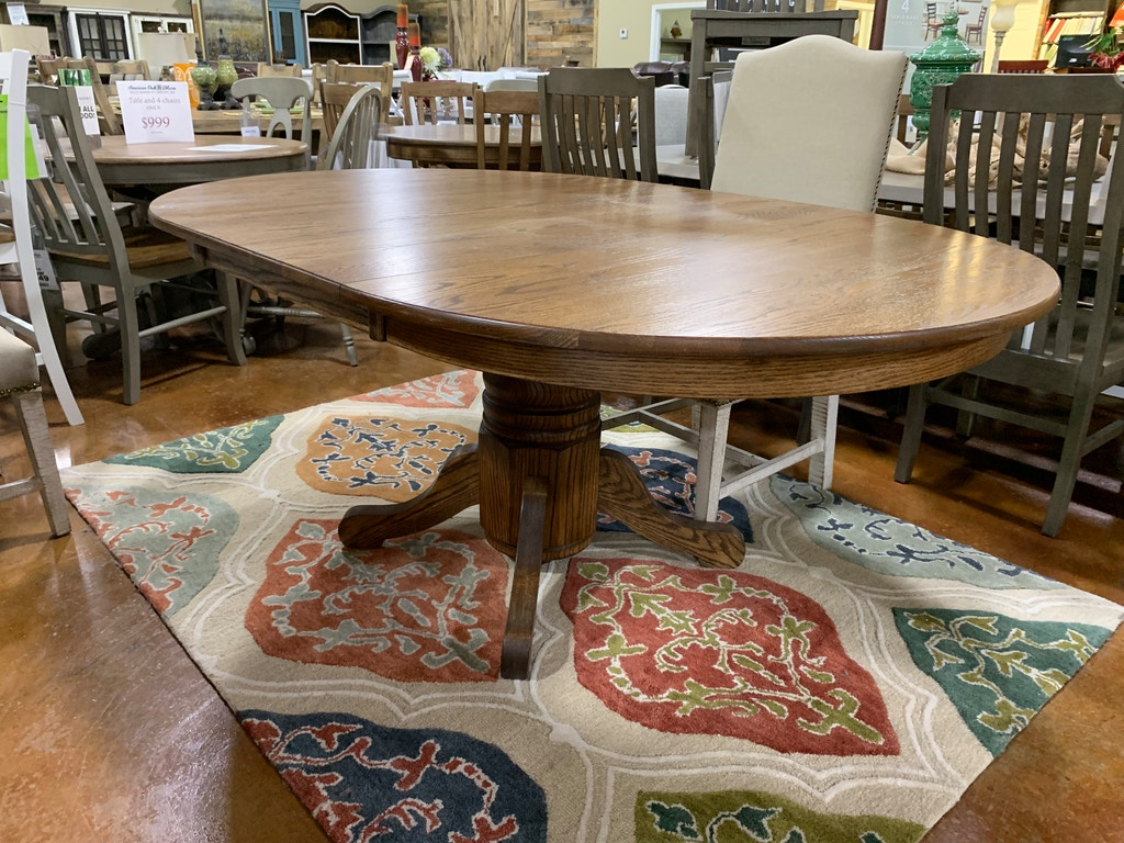 Jt Austin 48 Inch Round Table With 24