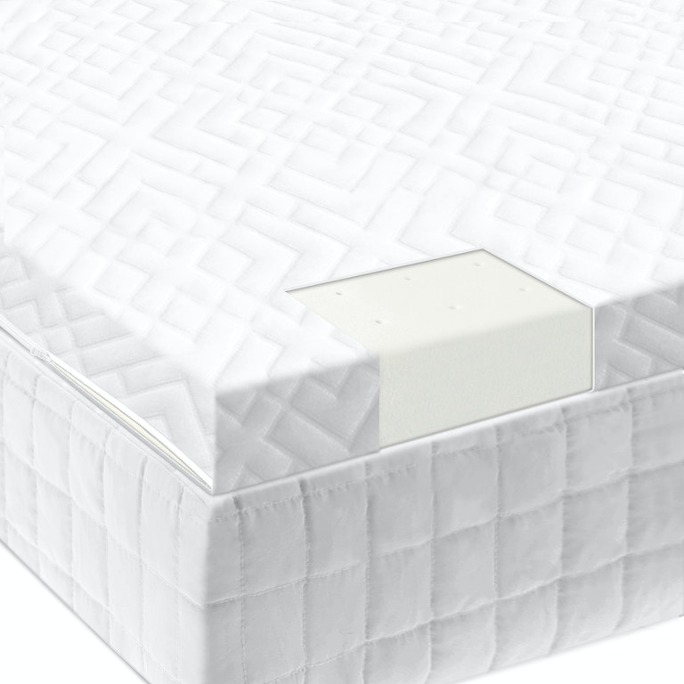 Latex Mattress Topper.Malouf Living Room 2 Latex Foam Mattress Topper King Is20kk65lt