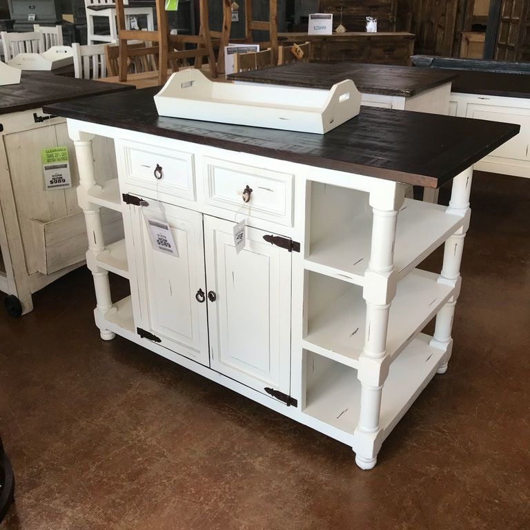 Cool Antique White Kitchen Island With 4 Drawers Interior Design Ideas Pimpapslepicentreinfo