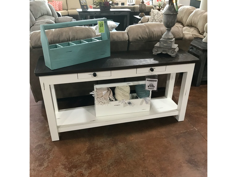Antique White Sofa Table
