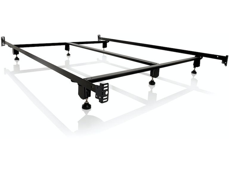 Malouf Living Room Steelock Bolt-On Headboard Footboard Bed Frame ...