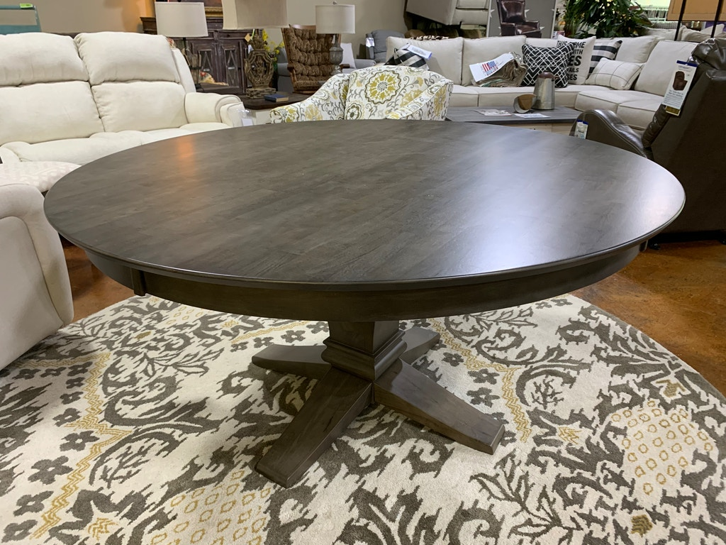T 60rt Hd T 10b Hd 60 Inch Round Pedestal Table With 10 Inch Java Pedestal
