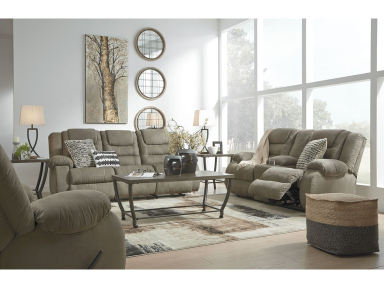 a1efd04cb Signature Design by Ashley Living Room 2PC Manual Reclining Set 10104-88 94  at Capital Discount