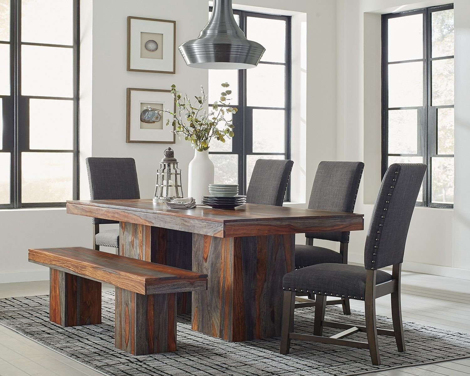 Coaster 6PC Dining Set 107481/102819/107483