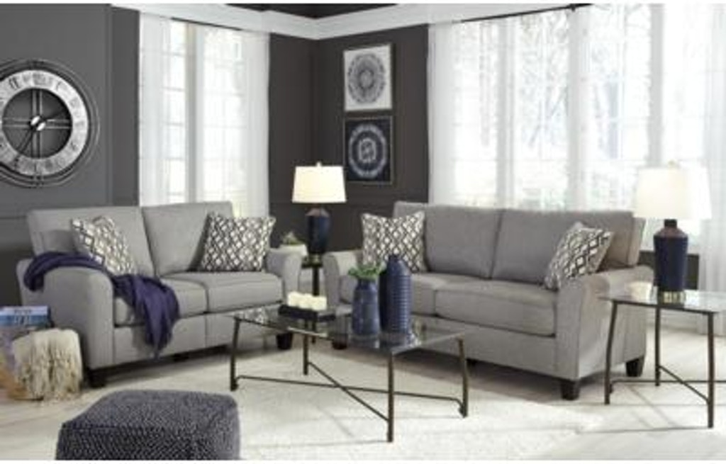 Marvelous Signature Design By Ashley Living Room 2Pc Sofa Loveseat Ibusinesslaw Wood Chair Design Ideas Ibusinesslaworg
