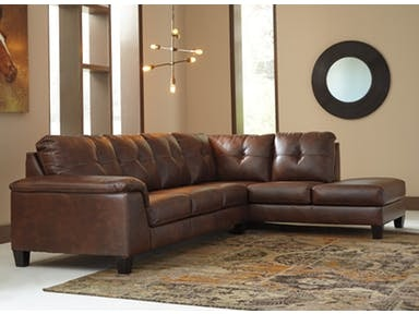 Signature Design By Ashley Goldstone Right Facing Sectional 3420317/66