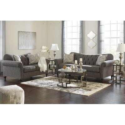 Signature Design By Ashley Living Room Praylor 2pc Sofa Loveseat Set