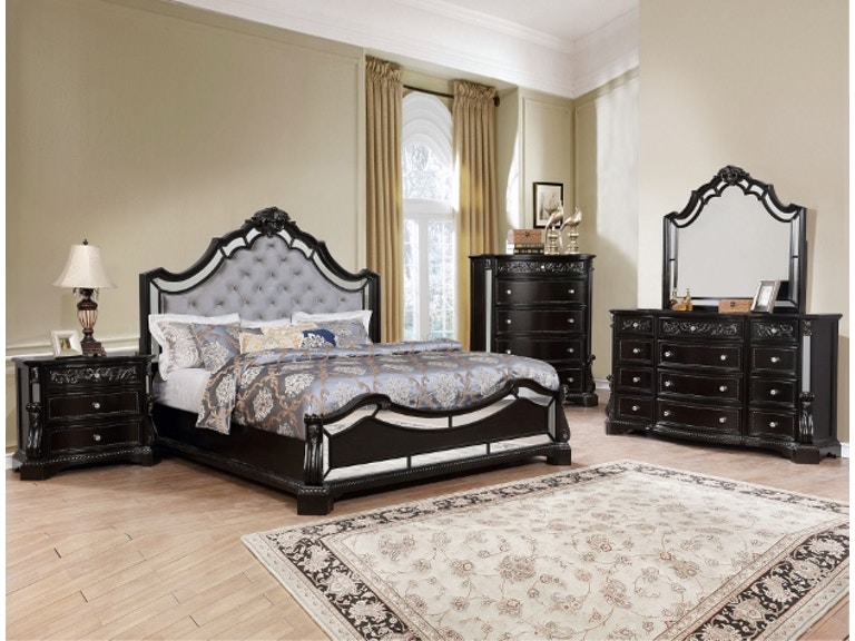 Crown Mark Queen Bedroom Set B1660 Q Set - Capital Discount ...