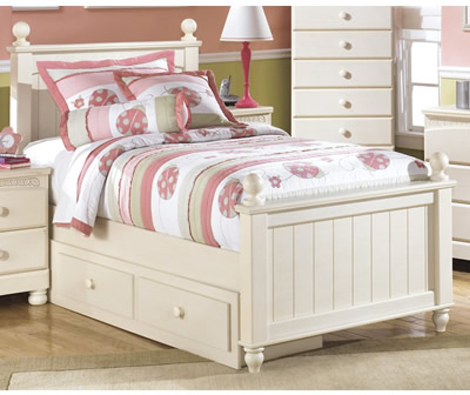 Signature Design by Ashley Youth Bedroom Twin Poster Bed w ...